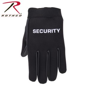 قفاز تكتيكي Security Neoprene Duty, روثكو, اسود