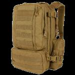 حقيبة وشنطة ظهر عسكرية كونفوي كوندور بني