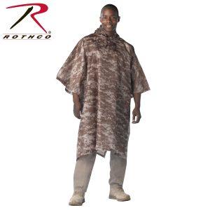 معطف مطر مموه روثكو صحراوي
